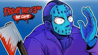 Download Friday The 13th - DLC RETRO JASON!!! (WHO PAINTED ME PURPLE?!!) Video
