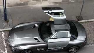 Download MERCEDES SLS AMG Brutal Accelerate Sound in Metzingen Germany!! Video