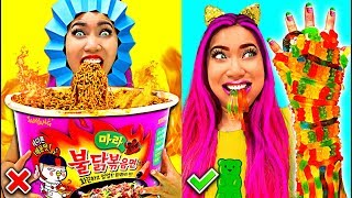 Download Weird Fun Hilarious Food Hacks You Should Try!!! (CC Available) Video
