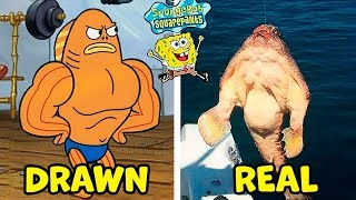 Download 8 SPONGE BOB SQUAREPANTS CHARACTERS IN REAL LIFE Video
