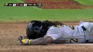 Download PIT@ARI: Delgado hits McCutchen, gets tossed Video