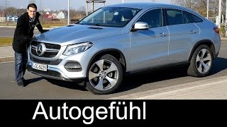 Download Mercedes GLE Coupé FULL REVIEW test driven 400 4MATIC (close to 450) 2017 new ML-Class Facelift neu Video