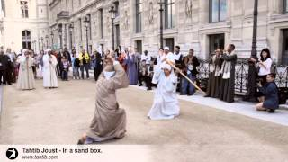 Download Tahtib Joust - In a sand box Video