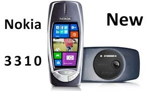 Download Nokia 3310 new with 41 Megapixel camera and Windows Phone 8 Video