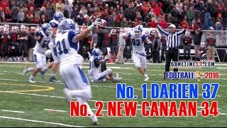 Download 2016 Turkey Bowl No 1 Darien 37, No 2 New Canaan 34 OT Video