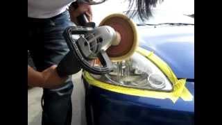 Download Headlamp Restoration The Right Way with DA Sander Video