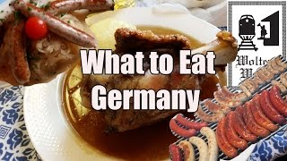 Download German Food & What You Should Eat in Germany Video