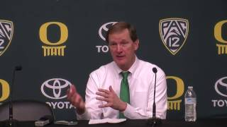 Download Oregon coach Dana Altman proud of team for staying in the game, staying in the moment Video