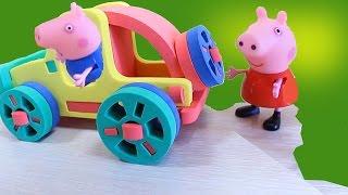 Download Мультик с игрушками Свинка Пеппа ищет Сюрпризы на Детской площадке Video