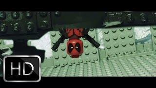 Download Lego Deadpool Red Band Trailer 2 recreation shot for shot Video