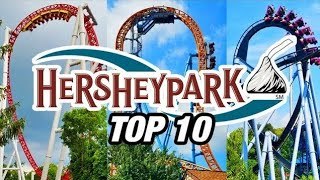 Download Top 10 Coasters at Hersheypark! Video