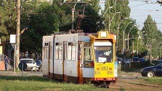 Download Tramvaiele societății de transport Transurb - Galați Video