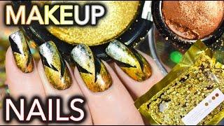 Download Nails using $$$ makeup! Metalmorphosis 005 Kit GOT NAILED Video