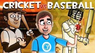 Download CRICKET vs. BASEBALL   Bad British Commentary Video