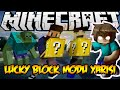 Download HİLECİ - Minecraft Lucky Block Modu Yarışı w/Oyun Konsolu Video