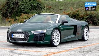 Download 2017 Audi R8 Spyder (540hp) - DRIVE & SOUND (60FPS) Video