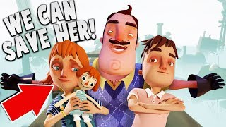 Download WE CAN SAVE HIS DAUGHTER! (New Ending) | Hello Neighbor Hide & Seek Gameplay Video