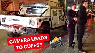 Download POLICE UNLAWFULLY DETAIN HUMMER DRIVER FOR THIS!? *FILMING IS NOT A CRIME* Video
