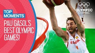 Download Pau Gasol's best Olympic matches ever | Top Moments Video