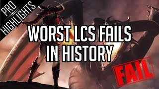 Download Worst LCS Fails in League of Legends History ! Video