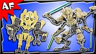 Download Lego Star Wars GENERAL GRIEVOUS Battle Figure 75112 Stop Motion Build Review Video