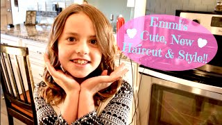 Download Emmi's Cute New Haircut & Style!! Video