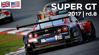 Download 2017 SUPER GT FULL RACE - ROUND 8 - Twin Ring MOTEGI - LIVE, ENGLISH COMMENTARY Video
