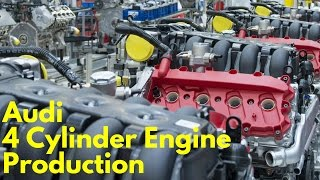 Download 2017 Audi Four Cylinder Engine Production Video