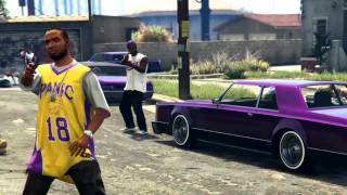 Download GTA 5 - THE LS OUTLAWS (grove street shootout/Cinematic) Video