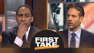 Download Rockets vs. Warriors: Who should be the Western Conference finals favorite? | First Take | ESPN Video