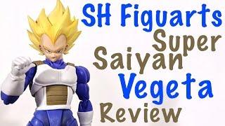 Download Bandai Tamashii Nations SH Figuarts Dragon Ball Z SUPER SAIYAN VEGETA Action Figure Review Video