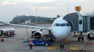 Download Latam Airlines Colombia A319 CC COY aterrizando en Bucaramanga Palonegro Video