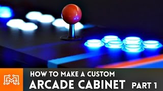 Download Arcade Cabinet build - Part 1 // How-To Video