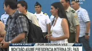 Download GABRIELA MONTAÑO PRESIDENTE INTERINA @ RED PAT BOLIVIA Video