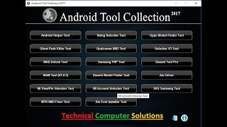 Download All in One Android Tool Collection 2017 | All Frp Tool | IMEI Tool Video