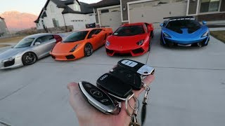Download FULL TOUR OF THE SUPERCAR COLLECTION!!! Video