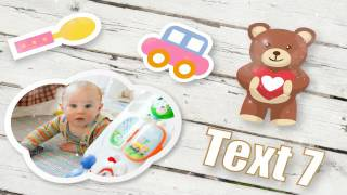Download Free After Effects Template Hello Baby Video