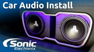 Download 2009 Honda Civic Installation | Full Car Audio System | Custom Enclosure | Sonic Electronix Video