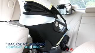 Download MIA MOO Backseat baby mirror review by @alleyesonjordyc! Video