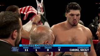 Download CES Boxing: Juiseppe Cusomano vs Robert Dunton Video