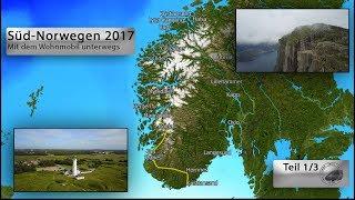 Download Süd-Norwegen Sommer 2017 Teil 1/3 (Mit dem Wohnmobil unterwegs) Video