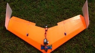 Download Build Super Simple Flying Wing ( delta wing ) RC - High Speed - (Tiko V3) Video