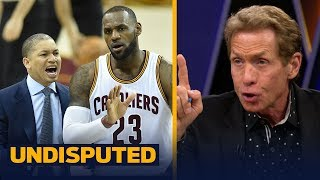 Download Skip Bayless reveals what Ty Lue's 'hidden agenda' comments mean for LeBron's Cavs | UNDISPUTED Video