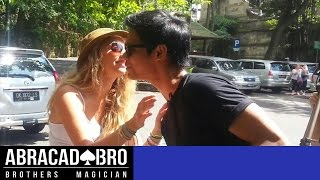 Download MAGIC KISSING PRANK & HOW TO GET GIRLS PHONE NUMBER - abracadaBRO Best Magic Tricks Video
