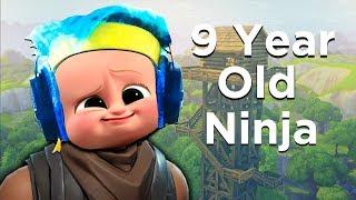 Download 9 Year Old Ninja on Fortnite! - Fortnite Battle Royale Video