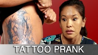Download Sons Prank Parents With Tattoos Video
