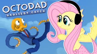 Download Fluttershy plays Octodad 🍉 | Now I'm Octoshy! *blurbburb* Video