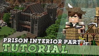 Download Minecraft Tutorial: Medieval Prison Interior! Part 1/3 Video
