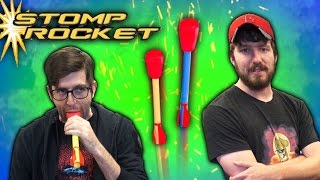 Download Choking Hazard - Dueling Stomp Rockets | Toy Chest Video