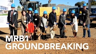 Download Multidisciplinary Research Building 1, 2016 Groundbreaking Video